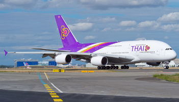 Oblatywacz: Klasa biznes w Thai Airways