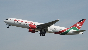 Kenya Airways planuje loty do Pekinu