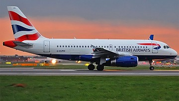 British Airways kończy loty z Londynu-Heathrow do Kijowa i Petersburga