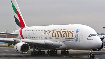 Emirates: A380 poleci do Casablanki