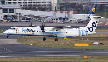 Bombardiery Flybe trafią do Conair