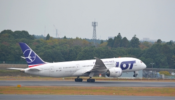 LOT: SP-LRH wrócił do służby. ACMI od Air Belgium do grudnia
