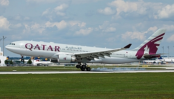 Qatar Airways: Airbus A330 poleci do Warszawy