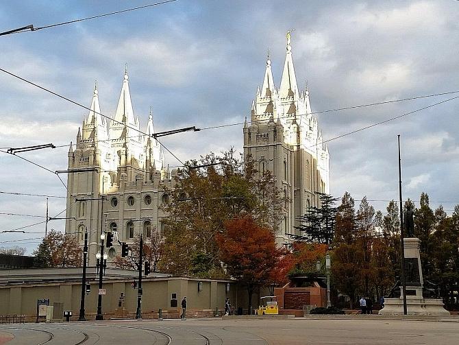 Połączyć się w mieście Salt Lake City