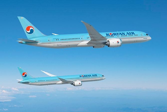 Znalezione obrazy dla zapytania samolot boeing 737 korean air