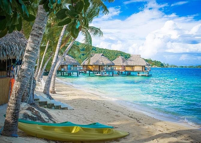 Jak dolecieć na tahiti